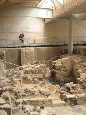 Σημαντικά αρχαιολογικά ευρήματα στο Ακρωτήρι Θήρας