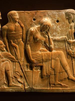 Σπουδαία ανακάλυψη: πήλινη πλάκα με στίχους της «Οδύσσειας»