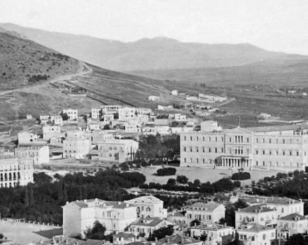 Views of Athens in different times