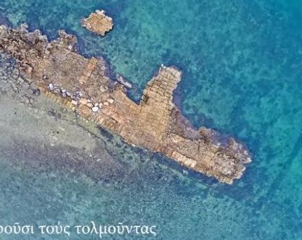 Το λιμάνι της Αρχαίας Ανθηδώνας