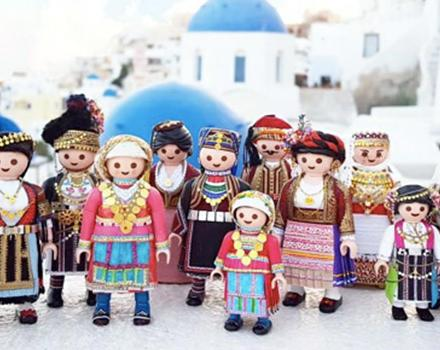 Playmogreek: Μια πρωτότυπη αναπαράσταση της ελληνικής παράδοσης